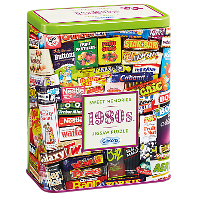 Picture of Gibsons 1980 Sweet Tin Jigsaw Puzzle, 500 pieces