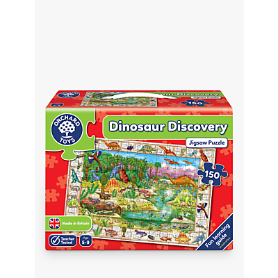 Picture of Orchard Toys Dinosaur Discover Jigsaw Puzzle, 150 Pieces