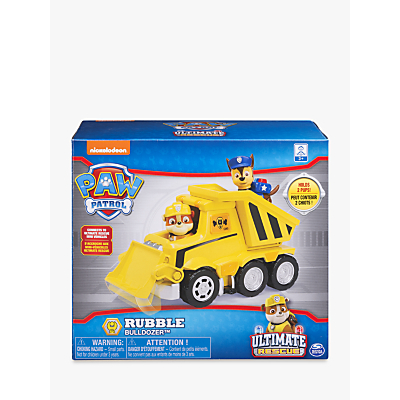 Picture of Paw Patrol Rubble's Ultimate Rescue Bulldozer