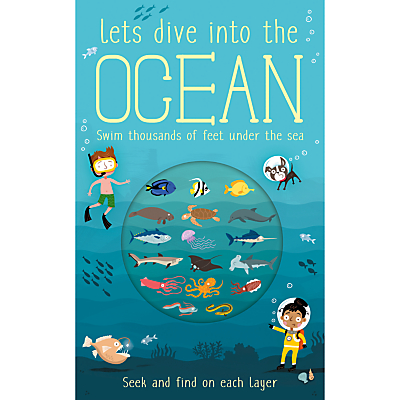 Picture of Let's Dive Into The Ocean Children's Book