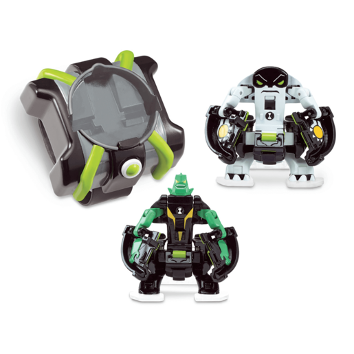 Picture of Ben 10 Omni Launch Battle Figures - Diamondhead and Cannonbolt