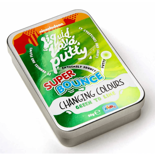 Picture of Nickelodeon Liquid Lava Putty Super Bounce Changing Colour - Green To Lime