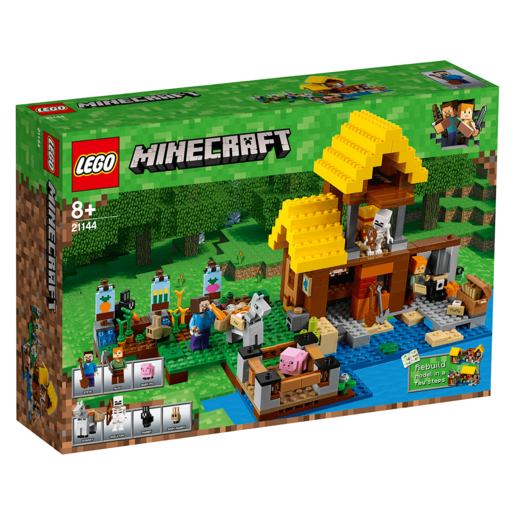 Picture of LEGO Minecraft The Farm Cottage - 21144