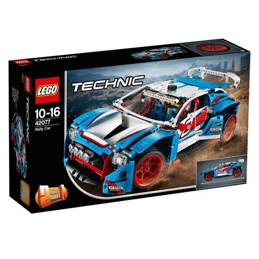 Picture of LEGO Technic Rally Car - 42077