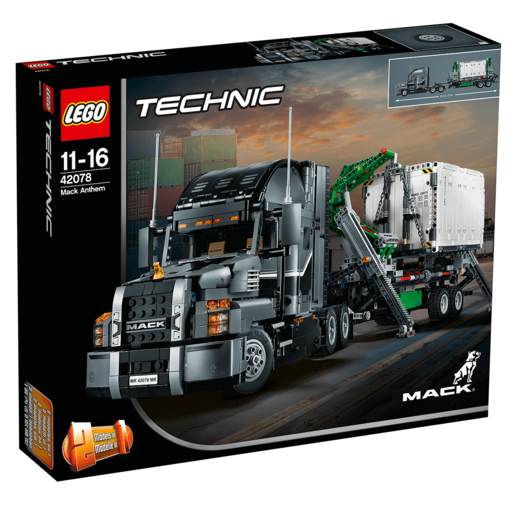 Picture of LEGO Technic Mack Anthem - 42078
