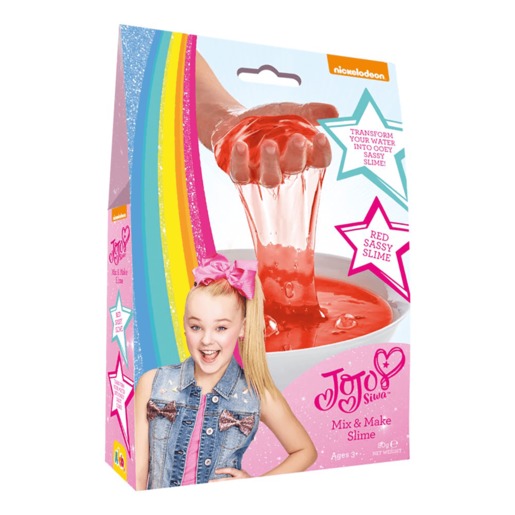 Picture of JoJo Siwa Mix & Make Slime - Red
