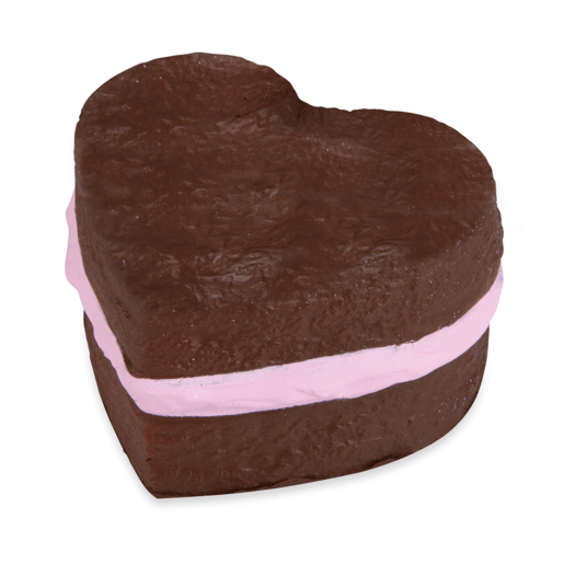 Picture of Softn Slo Squishies Series 1 Original Sweet Shop - Brown Heart