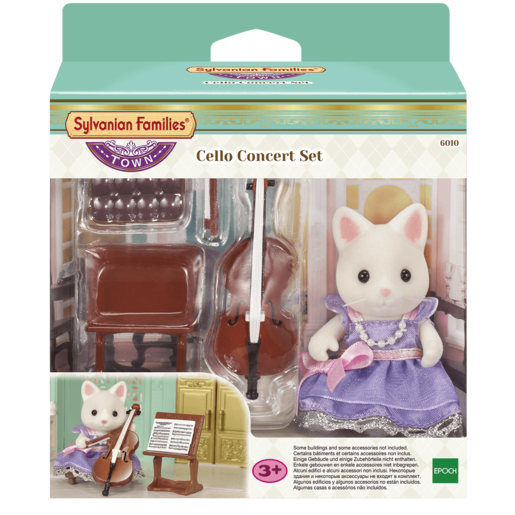 Picture of Sylvanian Families Cello Concert Set