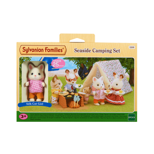 Picture of Sylvanian Families Seaside Camping Set