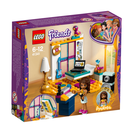 Picture of LEGO Friends Andreas Bedroom - 41341