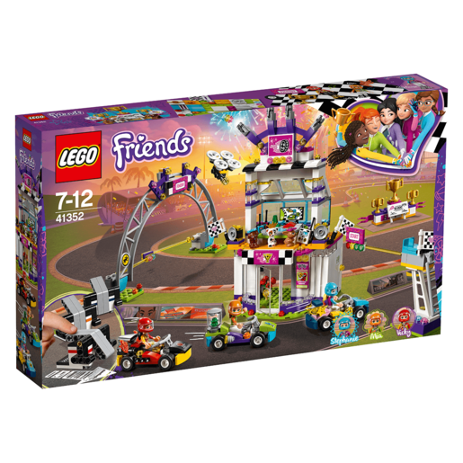 Picture of LEGO Friends The Big Race Day - 41352