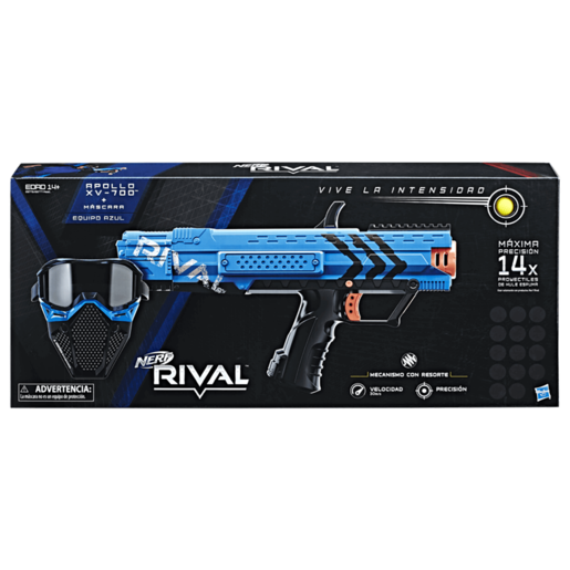 Picture of Nerf Rival Apollo XV-700 and Face Mask - Blue