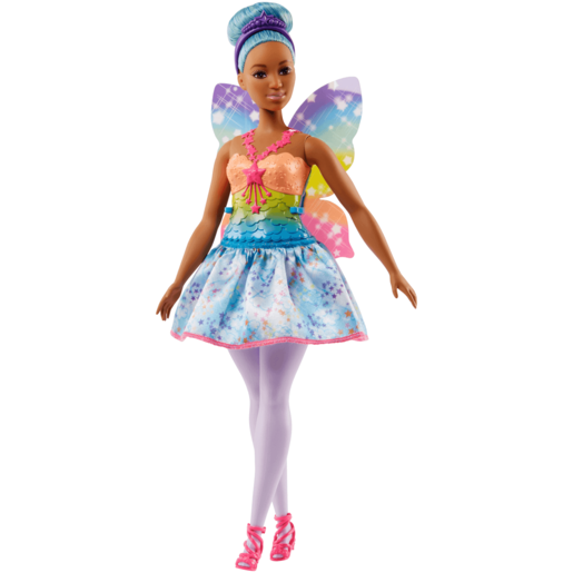 Picture of Barbie Fairy Doll - Blue Hair