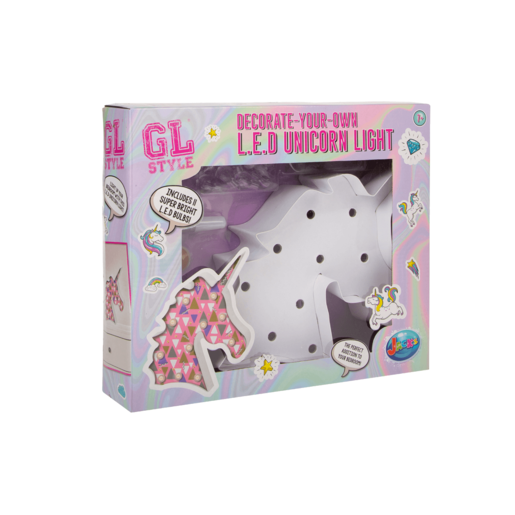 Picture of Gl Style Decorate-Your-Own L.E.D Unicorn Light
