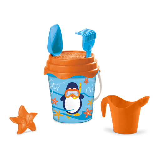 Picture of Penguin Bucket Set 17cm With Accessories