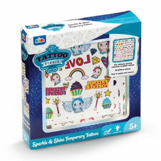 Picture of Tattoo Studio Shimmer and Shine Temporary Tattoos
