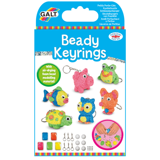 Picture of Galt Beady Keyrings