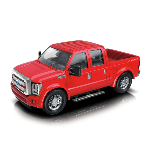 Picture of 1:28 Scale Ford F350 Friction Car - Red