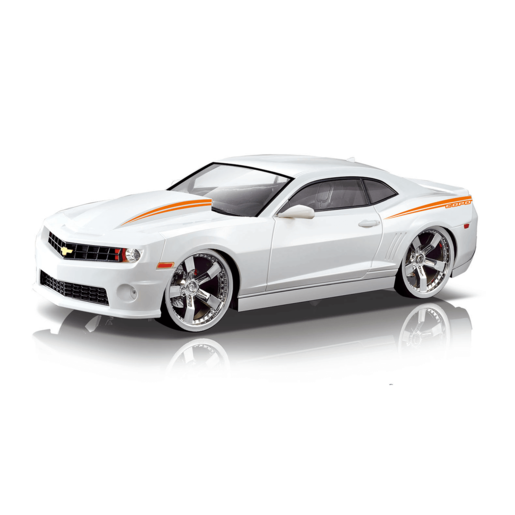 Picture of Braha 1:24 Scale Camero Friction Car - White