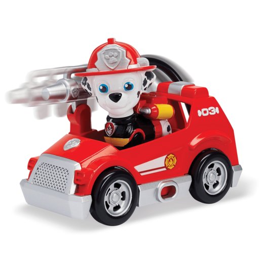 Picture of Paw Patrol Ultimate Rescue Mini Vehicle with Collectible Figure - Marshall