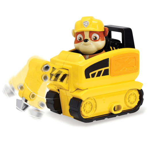 Picture of Paw Patrol Ultimate Rescue Mini Vehicle with Collectible Figure - Rubble