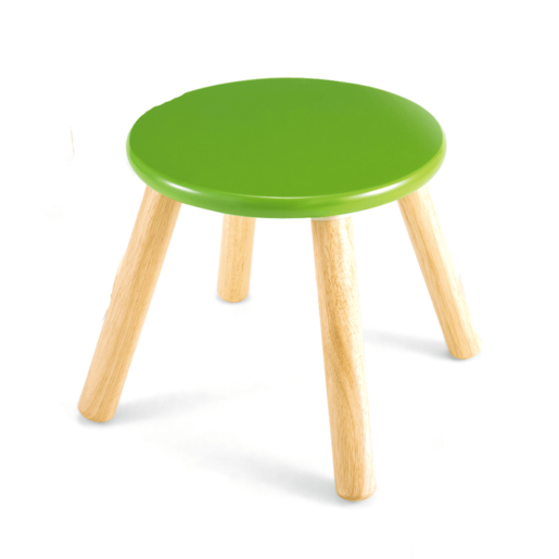 Picture of Wooden Stool 30cm -Green