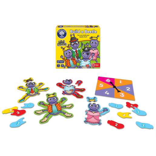 Picture of Orchard Toys Mini Game - Build A Beetle