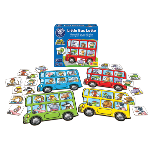 Picture of Orchard Toys Mini Game - Little Bus Lotto