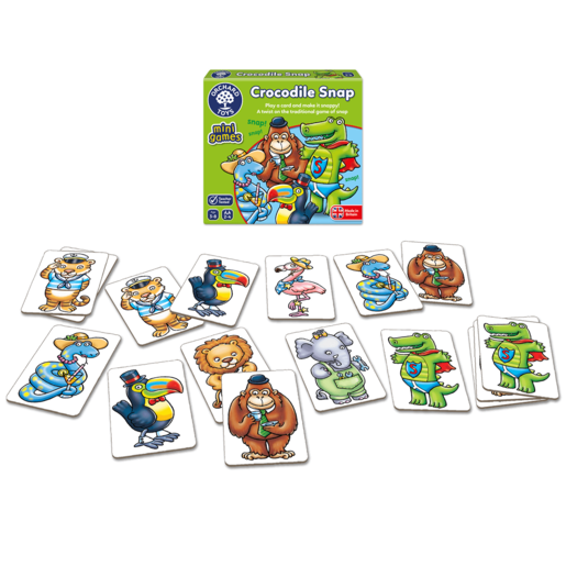Picture of Orchard Toys Mini Game - Crocodile Snap