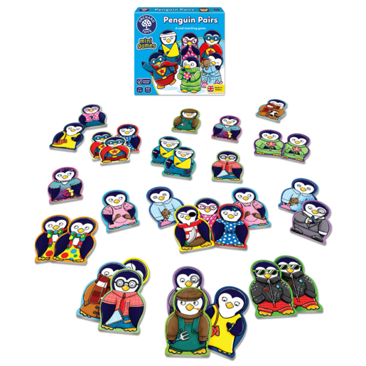 Picture of Orchard Toys Mini Game - Penguin Pairs