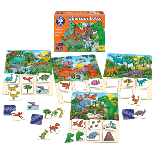 Picture of Orchard Toys Dinosaur Lotto