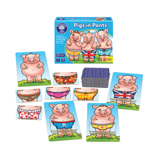 Picture of Orchard Toys Pigs in Pants