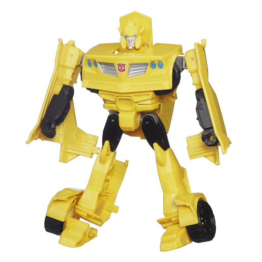 Picture of Transformers Generations Cyber Battalion Series Figure - Bumblebee