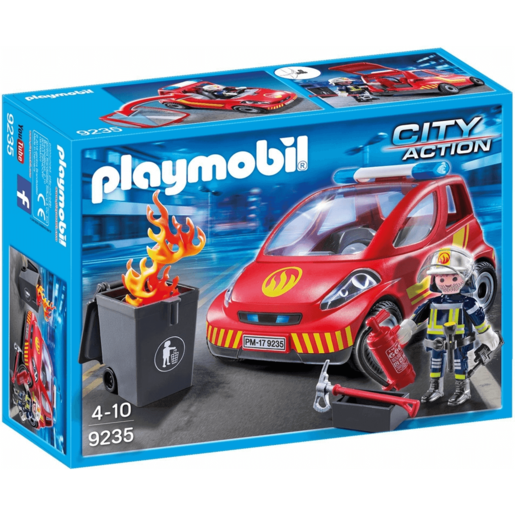 Picture of Playmobil 9235 City Action Firefighter with Car