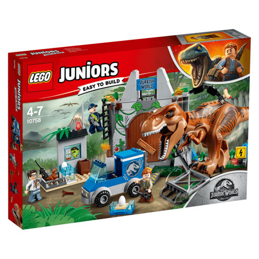 Picture of LEGO Juniors Jurassic World T. Rex Breakout - 10758