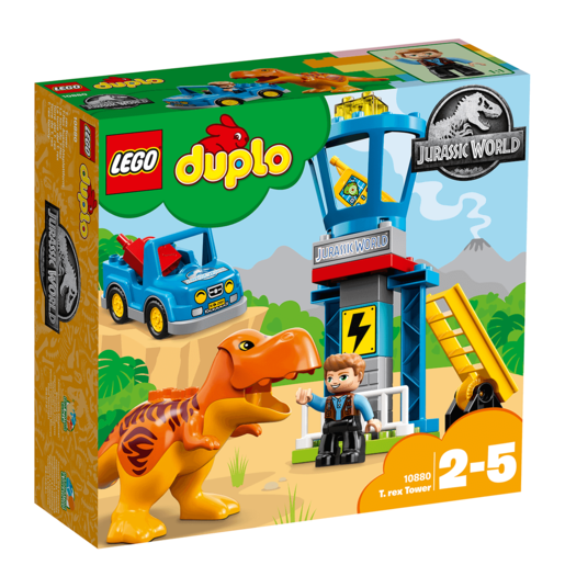 Picture of LEGO Duplo Jurassic World T. rex Tower - 10880