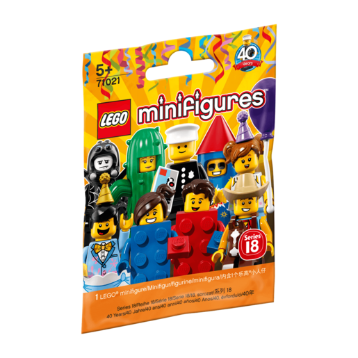 Picture of LEGO Minifigures Series 18 Party
