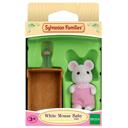 Picture of Sylvanian Families - White Mouse Baby