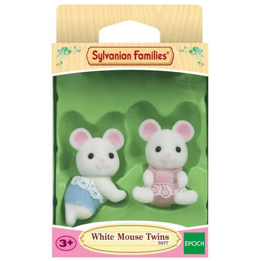 Picture of Sylvanian Families - White Mouse Twins