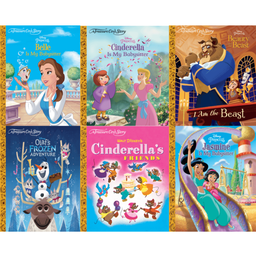 Picture of A Treasure Cove Story Disney Princess Book Bundle (6 Books)