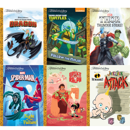 Picture of A Treasure Cove Story Heroes Book Bundle (6 Books)