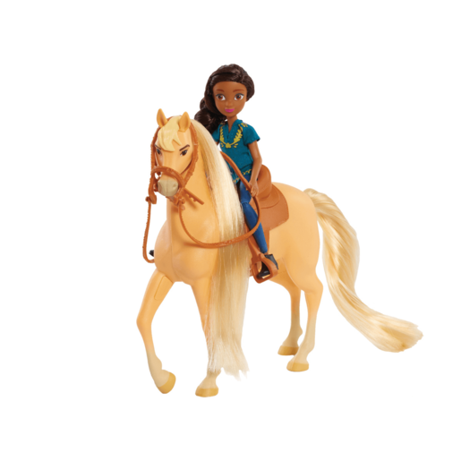 Picture of Spirit Small Doll and Classic Horse - Prudence and Chica Linda