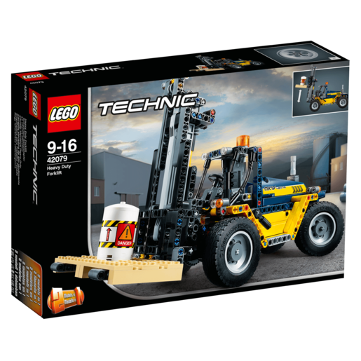 Picture of LEGO Technic Heavy Duty Forklift - 42079