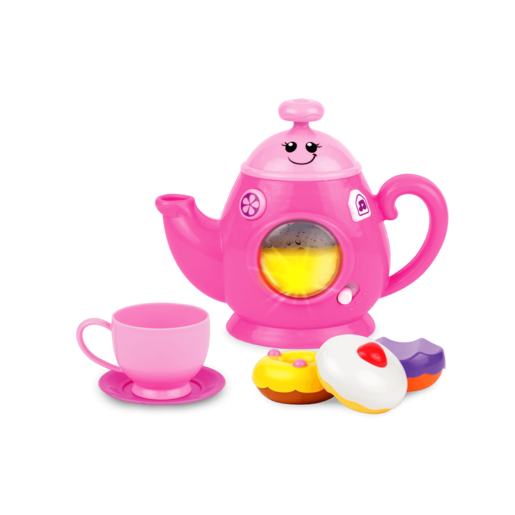 Picture of WinFun Fun and Sweets Tea Set - Pink