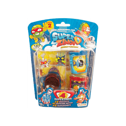 Picture of SuperZings Series 2 Hideouts Blister Pack