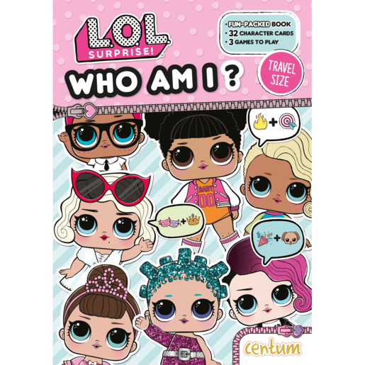 Picture of L.O.L. Surprise! Who Am I? Fun-Pack Book
