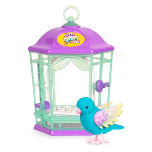 Picture of Little Live Pets Light Up Bird Cage - Skye Twinkles