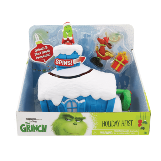 Picture of The Grinch - Grinch Whoville 2 Figure Playset - Holiday Heist