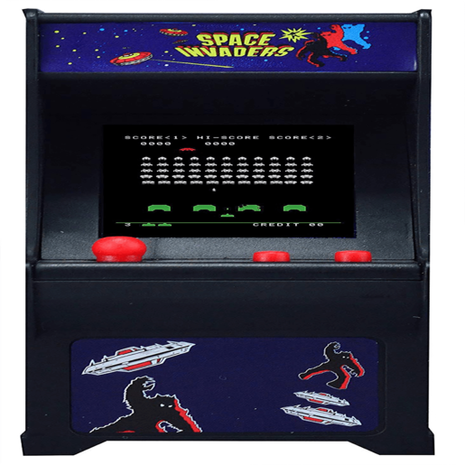 Picture of Tiny Arcade Space Invaders Miniature Arcade Game