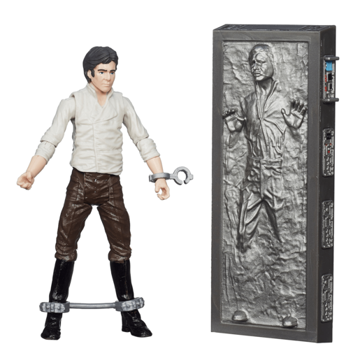 Picture of Star Wars Black Series 9.5cm Figure - Han Solo With Carbonite Figure